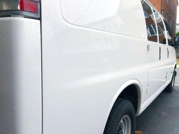 2002 Chevy Express cargo work van clean work van inside out V6 4.3 miles 154K