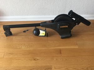 Cannon Downrigger HP with flasher cannon ball weight for Sale in Littleton, CO