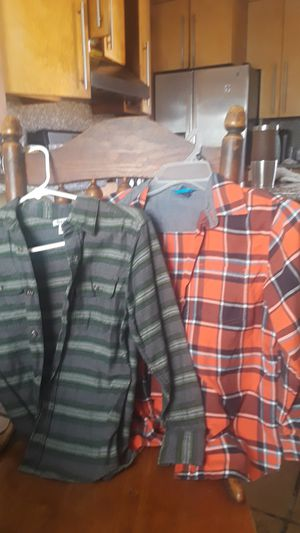 2 Gap and old have boys size 10 long sleeve shirts for Sale in Compton, CA