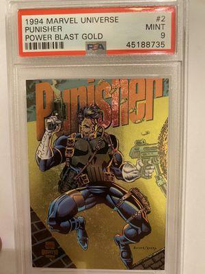 1994 Marvel Universe Punisher Power Blast Gold psa 9 for Sale in Anaheim, CA