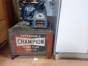 Vintage. Mid 40's AC delco. Champion spark plug service Station for Sale in Tacoma, WA