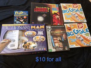 Board games for Sale in Sunrise, FL