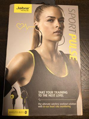 Jabra Sport Pulse wireless Bluetooth headphones for Sale in San Jose, CA