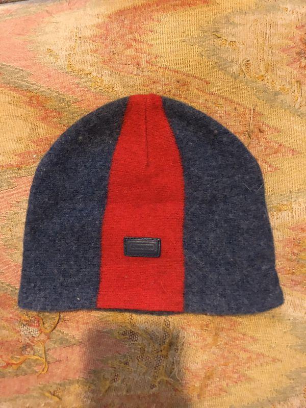 COACH kids wool hat small EUC