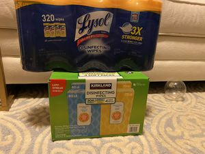 Lysol and Kirkland Wipes for Sale in Alexandria, VA