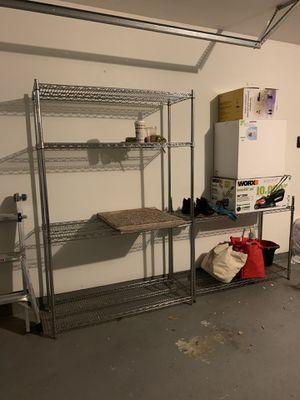 Heavy duty Wire shelves - 2 shelves (westchase area) for Sale in Houston, TX