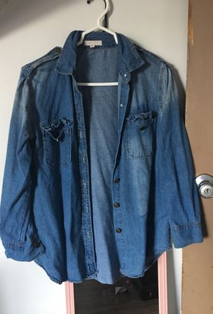 Jean flannel for Sale in Hoquiam, WA