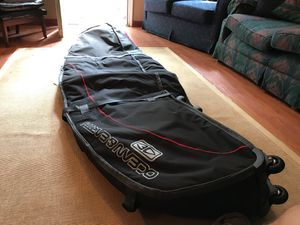 New 7' Ocean & Earth double coffin long board HD surfboard bag w/ wheels. Hold up to 4 surfboards. for Sale in Kingstree, SC