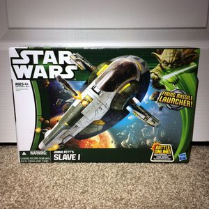 Star Wars Action Figures Vintage Jango Fett's Slave 1 Vehicle Playset for Sale in Concord, CA