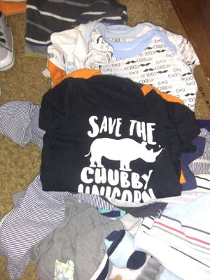 Baby boy clothes 3-9months for Sale in Riverton, VA