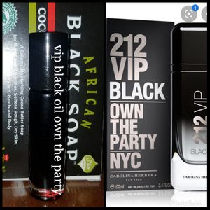 Vip black best male fragrance on the market cheat your self lady like guys how smells good for Sale in Petersburg, VA