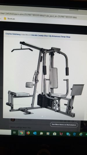 Weider pro for Sale in Star City, AR