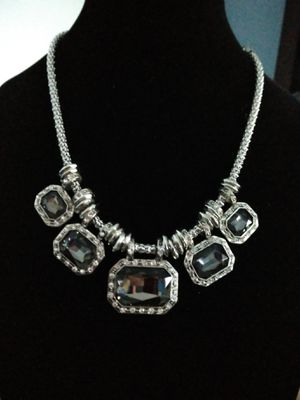 Betsey Johnson beautiful elegant Crystal chunky necklace. Brand new for Sale in Panama City Beach, FL