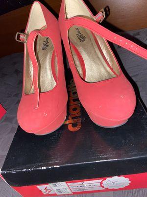 Charlotte Russe Red Heels for Sale in Muscoy, CA