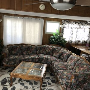 Sectional couch , coffee table for Sale in Turlock, CA