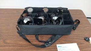 Lowel Pro Light P2-10 (x3), Light filters (x3), Lowel extension cord (x3) & lowel bag (x1) for Sale in Indianapolis, IN