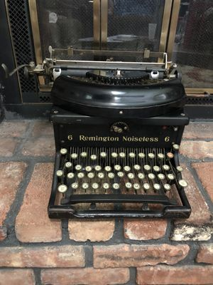 1920's REMINGTON Noiseless No.6 Typewriter for Sale in Holmdel, NJ