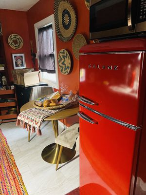 New, Very Cool Red Refrigerator/Freezer! for Sale in Saint Ann, MO