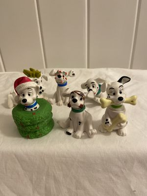 Vintage Dalmatian Holiday Figurines & Christmas ornament for Sale in Glastonbury, CT