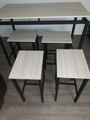 5Pcs Dining Table Set for Sale in Queens, NY