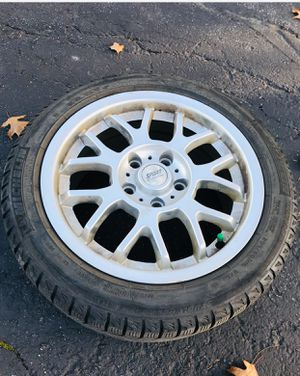 4 rims + snow tire for Sale in Arlington Heights, IL