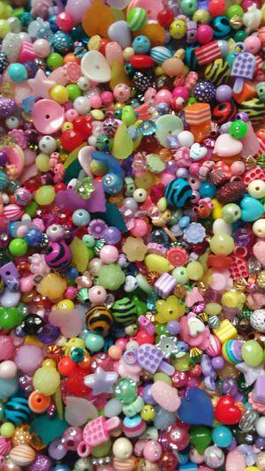 1+ lb Mixed Fun Acrylic Beads for Sale in Ridgeville, SC