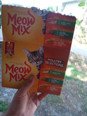 14 cans of cat food for Sale in St. Petersburg, FL