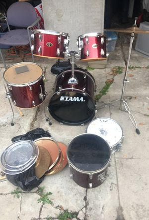 Tama Drum Set in great condition for Sale in Los Angeles, CA