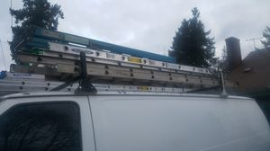 Ladder rack and ladders for Sale in Portland, OR