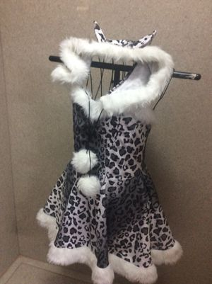 Women's adult snow leopard Halloween costume. Size S-M. Hat, tail included, $20 for Sale in Columbus, OH