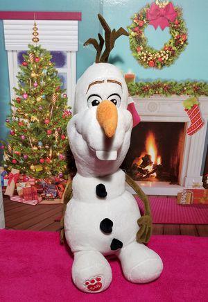 "16"" Build A Bear 🌹Disney Frozen Olaf Snowman BABW Stuffed Plush EUC for Sale in Dale, TX"