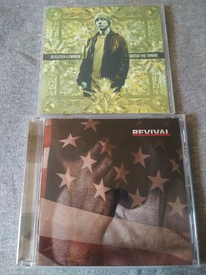 Eminem music CDs both are in excellent condition and you get both for only $13 for Sale in Philadelphia, PA