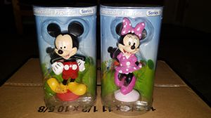 DISNEY MICKEY AND MINNIE MOUSE FIGURINES for Sale in Portland, OR