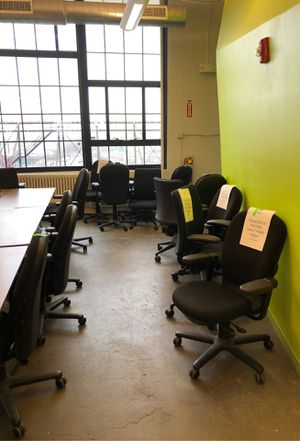 Comfortable office desk chairs sold in bundles of ten for Sale in Boston, MA