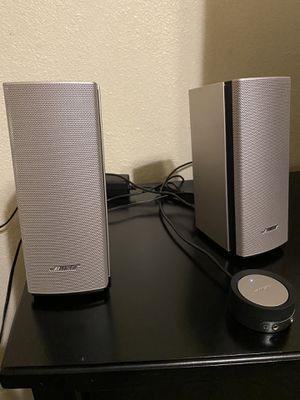 BOSE Companion 20 multimedia speaker system for Sale in Fresno, CA