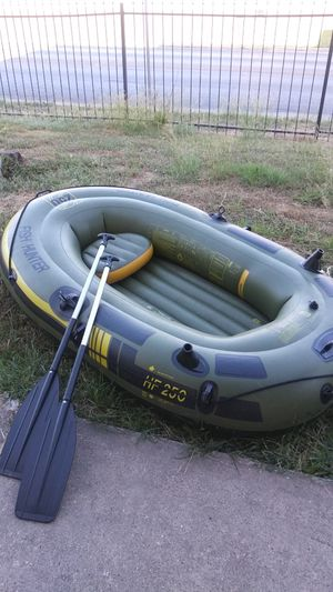 3 Man Inflatable Boat for Sale in Grand Prairie, TX