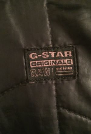 $90 G-star denim bubble jacket with revertable hood(XL fits like Large) for Sale in Lake Ridge, VA