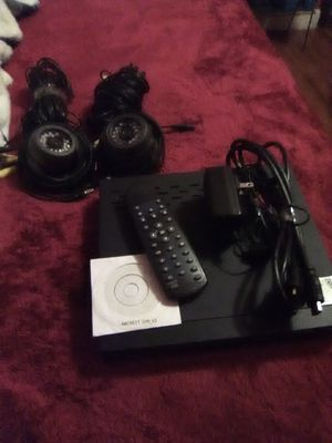 AMCREST DVR AND CAMERA SYSTEM for Sale in Stockton, CA