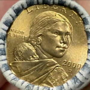USA America 2000 D Indian Woman Sacagawea Uncirculated Dollar coins for Sale in Los Angeles, CA