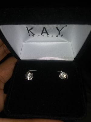 1/3ct White gold diamond earrings from Kays for Sale in Decatur, GA