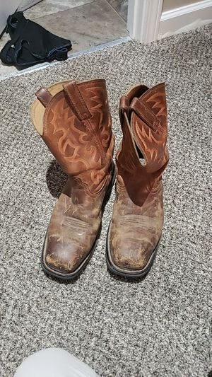 work boots ariat steel toe for Sale in Clarksville, TN
