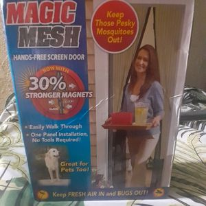Mosquito Net Mesh Magnetic Door for Sale in La Habra, CA