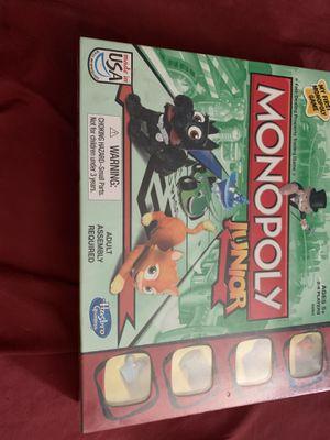 Monopoly junior for Sale in Phoenix, AZ