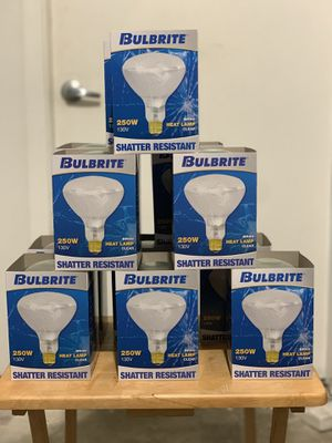 Light Bulbs / Heat Lamp Bulbs for Sale in Pompano Beach, FL
