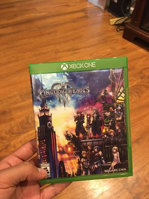 Kingdom hearts 3 for Xbox for Sale in Vacaville, CA