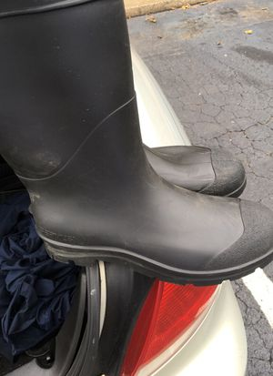 Size 14 rubber boots for Sale in Chapel Hill, NC