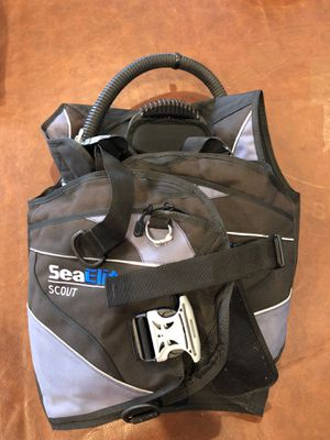 BCD, RK3 fins, and sea dive goggles for Sale in Fort Lauderdale, FL