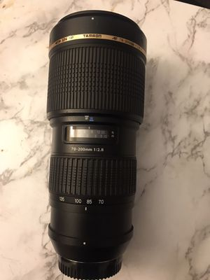 Tamron af 70-200mm 2.8 Nikon for Sale in Sylmar, CA