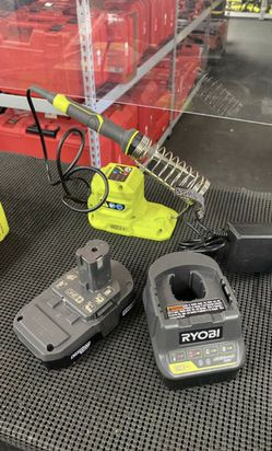 Ryobi (New) 18V 40W Soldering Iron Tool (battery,charger) Set $50 for Sale in La Habra Heights,  CA
