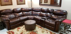 Leather Sectional Couch for Sale in Delray Beach, FL